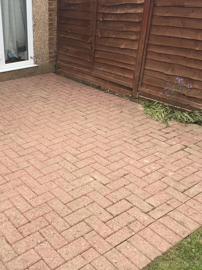 Patio After Cleaning