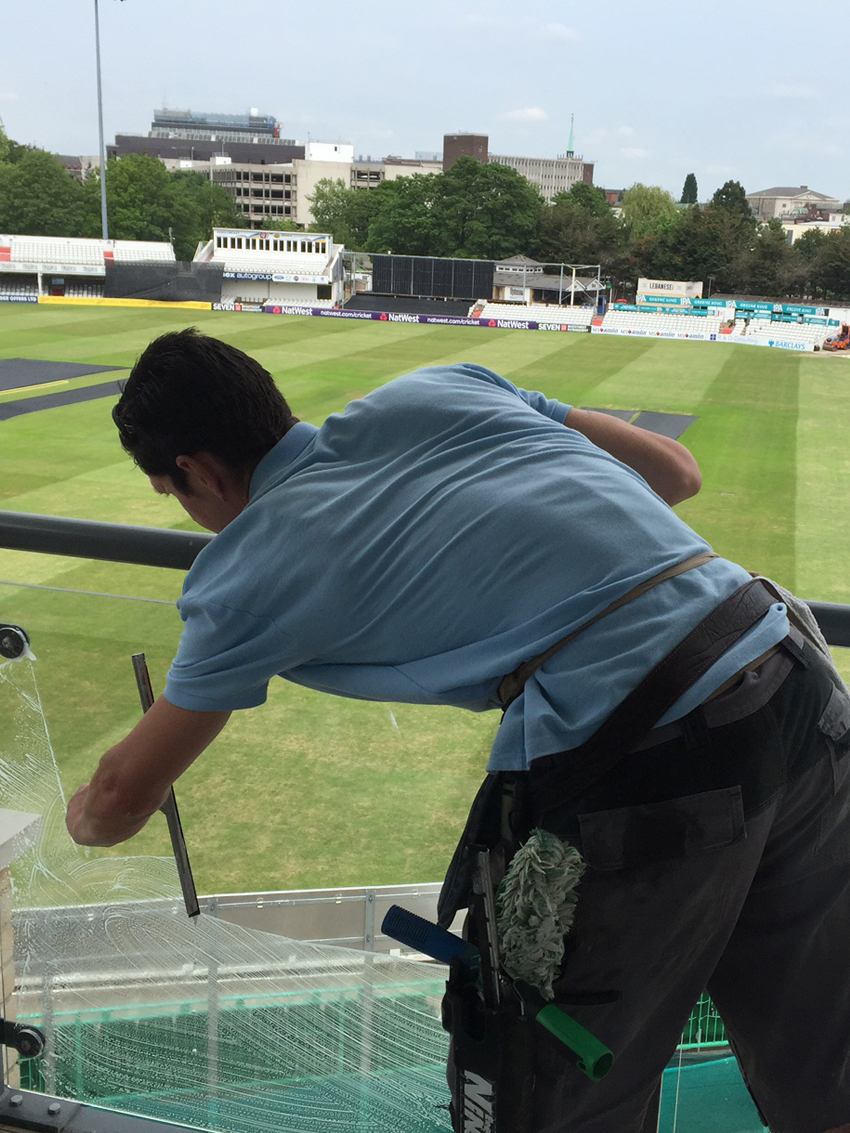 Cricket Ground Window Cleaning