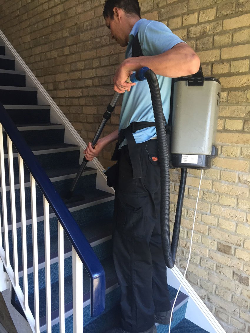Communal Stair Cleaning